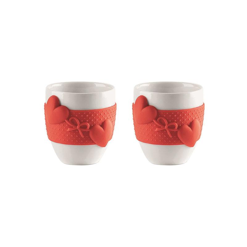 Guzzini - Love - 2 kubeczki do espresso - pojemność: 80 ml