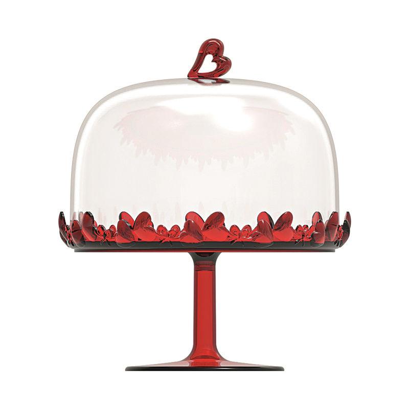 Guzzini - Love - patera na ciasto z pokrywką - średnica: 18,5 cm