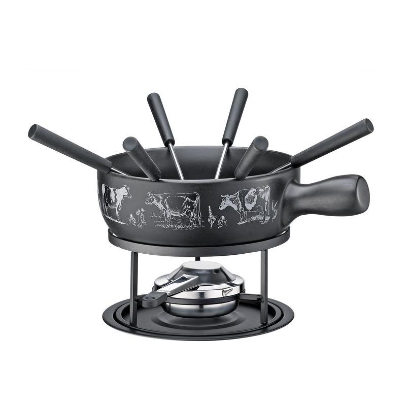 Küchenprofi - St. Gallen - zestaw do fondue serowego - pojemność: 2,0 l
