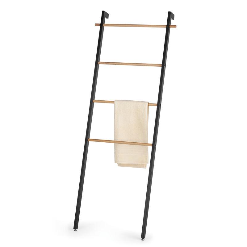 Kela - Oak - wieszak na ręczniki - wymiary: 66 x 10,5 x 180 cm