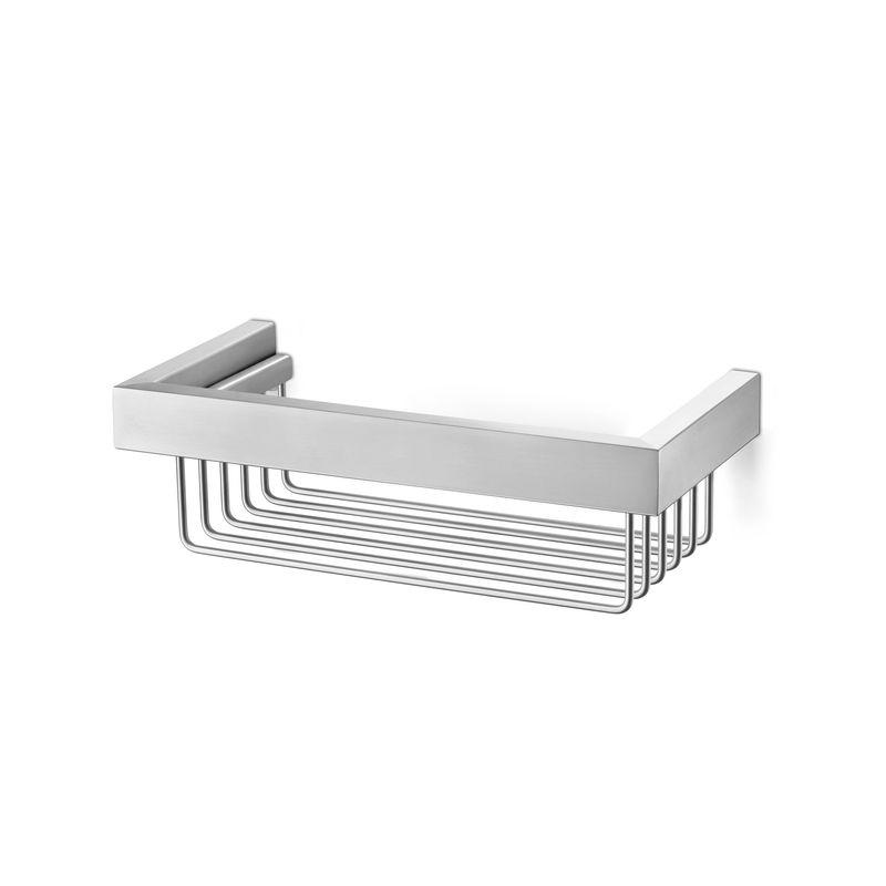 Zack - Linea - półka prysznicowa - długość: 26,5 cm; matowa stal