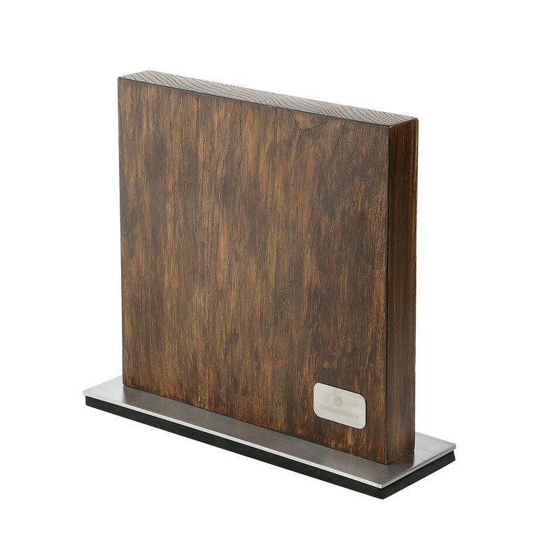 Zassenhaus - Jesion - magnetyczny blok na noże - wymiary: 28 x 9 x 25 cm