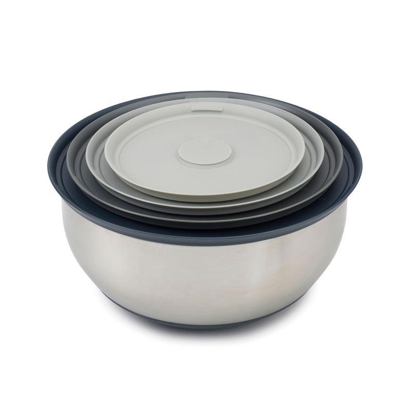 Joseph Joseph - Nest Prep & Store - zestaw misek kuchennych z pokrywkami - 4 elementy