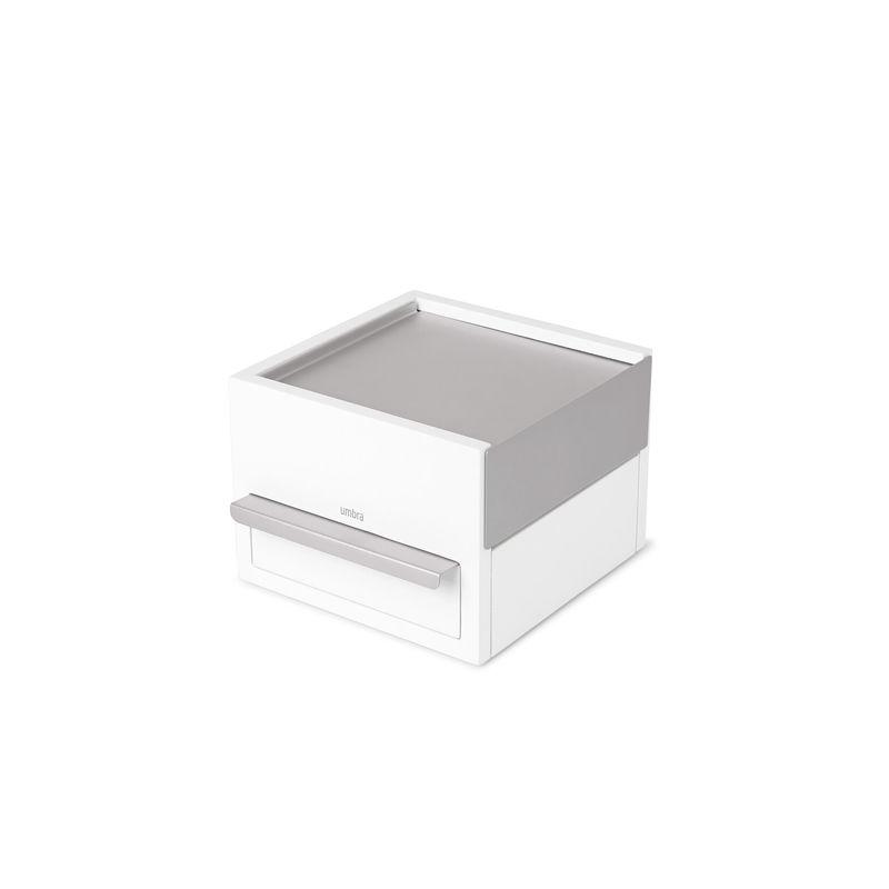 Umbra - Stowit - pudełko na biżuterię - wymiary: 16,5 x 15 x 11 cm