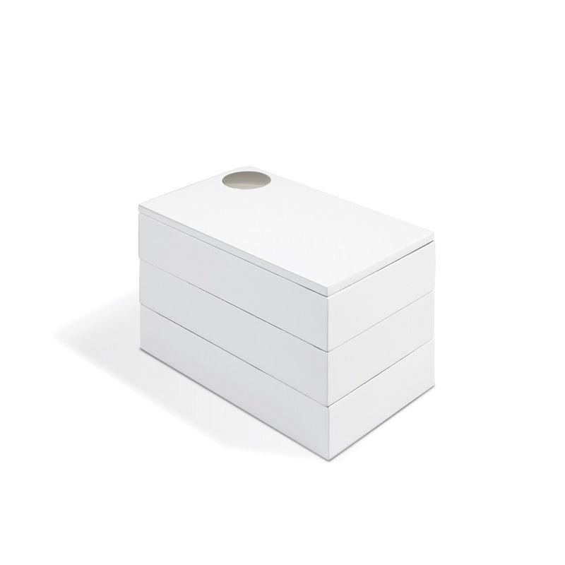 Umbra - Spindle - pudełko na biżuterię - wymiary: 19 x 11 x 11 cm