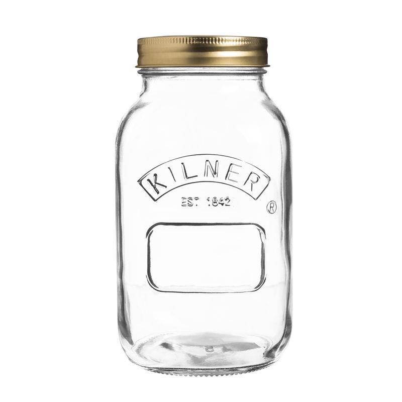 Kilner - Preserve Jar - słój do wekowania - pojemność: 1,0 l