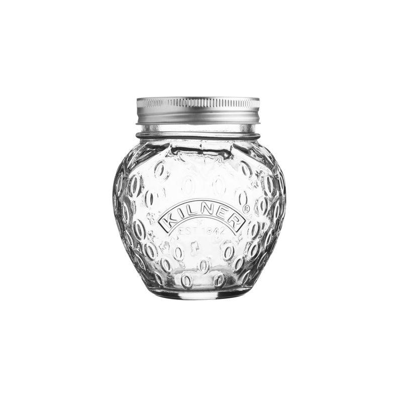 Kilner - Fruit Preserve Jar - słój do wekowania - pojemność: 0,4 l; truskawka