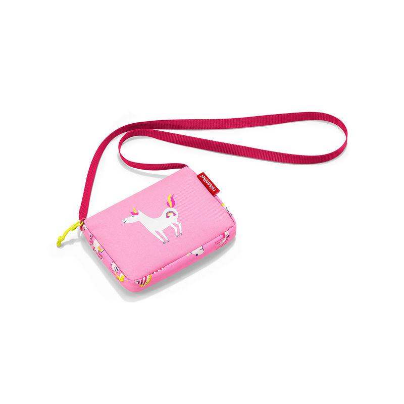 Reisenthel - itbags kids - torebki dla dzieci - wymiary: 16 x 12 x 3 cm; odblaskowy element