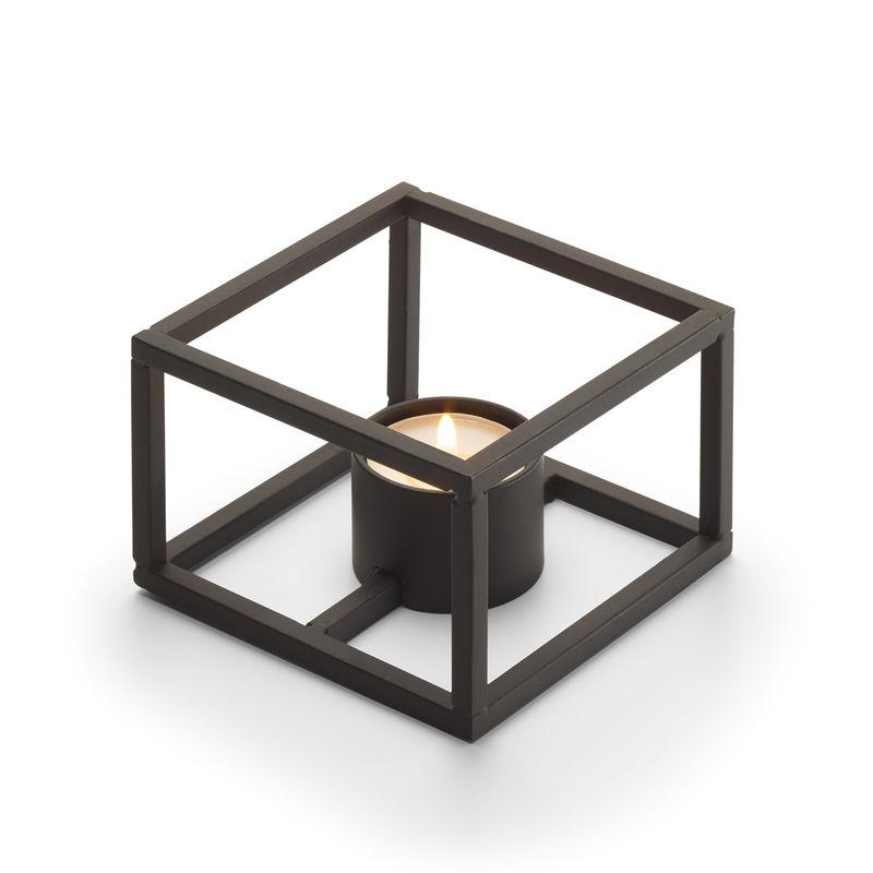 Philippi - Cubo - świecznik lub podgrzewacz - wymiary: 10 x 10 cm