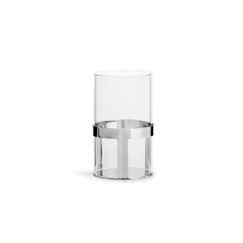 Sagaform - Interior - lampion na tealight - wysokość: 12,5 cm; pudełko prezentowe