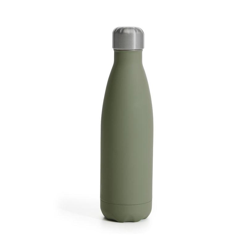 Sagaform - To Go - butelka termiczna - pojemność: 0,5 l; gumowana