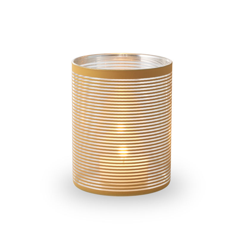 Philippi - Amber - lampion - wysokość: 15 cm