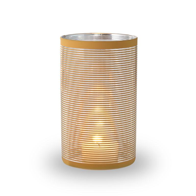 Philippi - Amber - lampion - wysokość: 20 cm