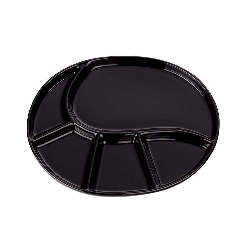Kela - Vroni - talerz do fondue - wymiary: 28,5 x 22 cm