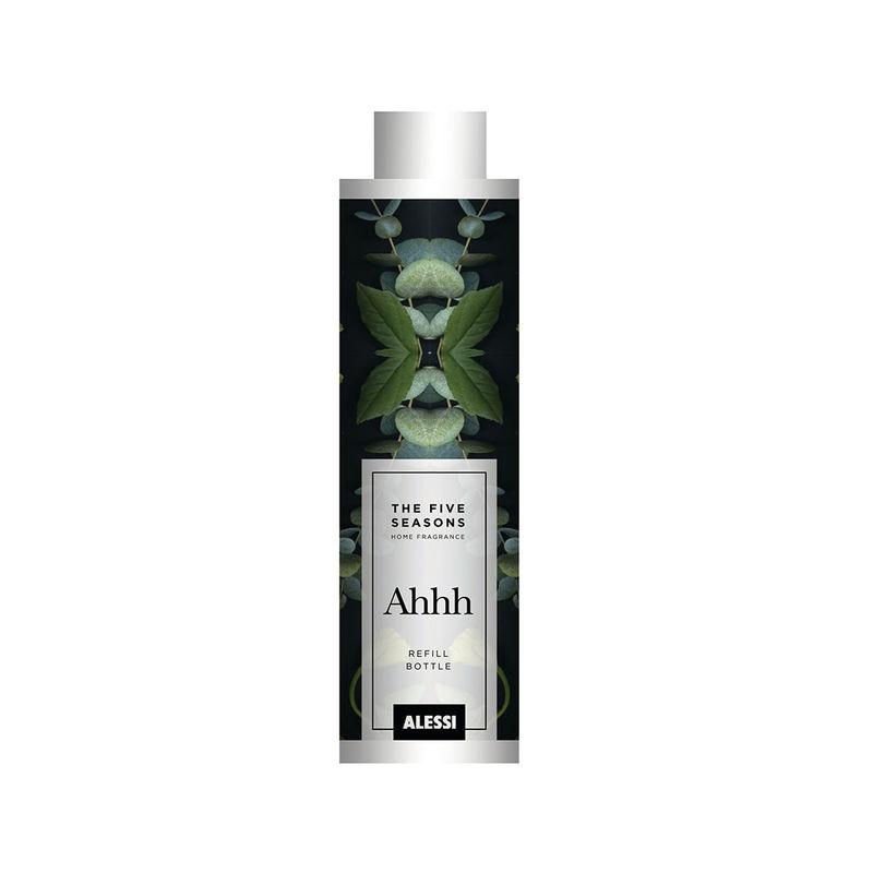 Alessi - Ahhh - olejek zapachowy do dyfuzora - pojemność: 150 ml; kardamon, hiacynt i wetiwer