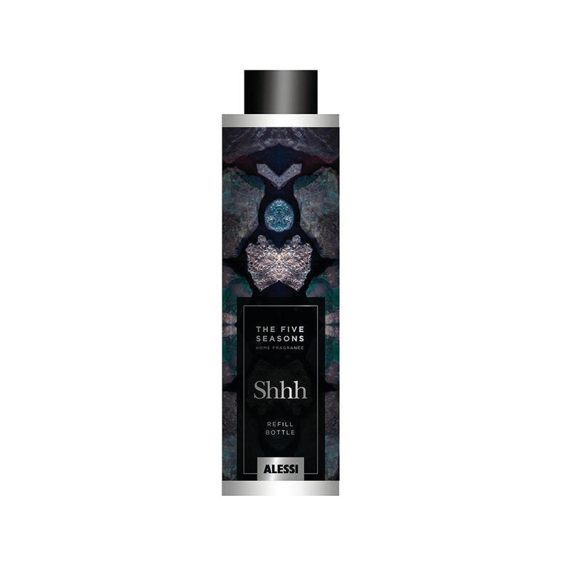 Alessi - Shhh - olejek zapachowy do dyfuzora - pojemność: 150 ml; eukaliptus, róża i paczula
