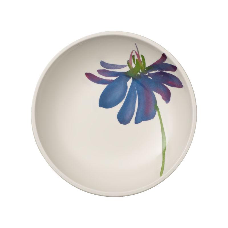 Villeroy & Boch - Artesano Flower Art - płaska miska - pojemność: 1,1 l