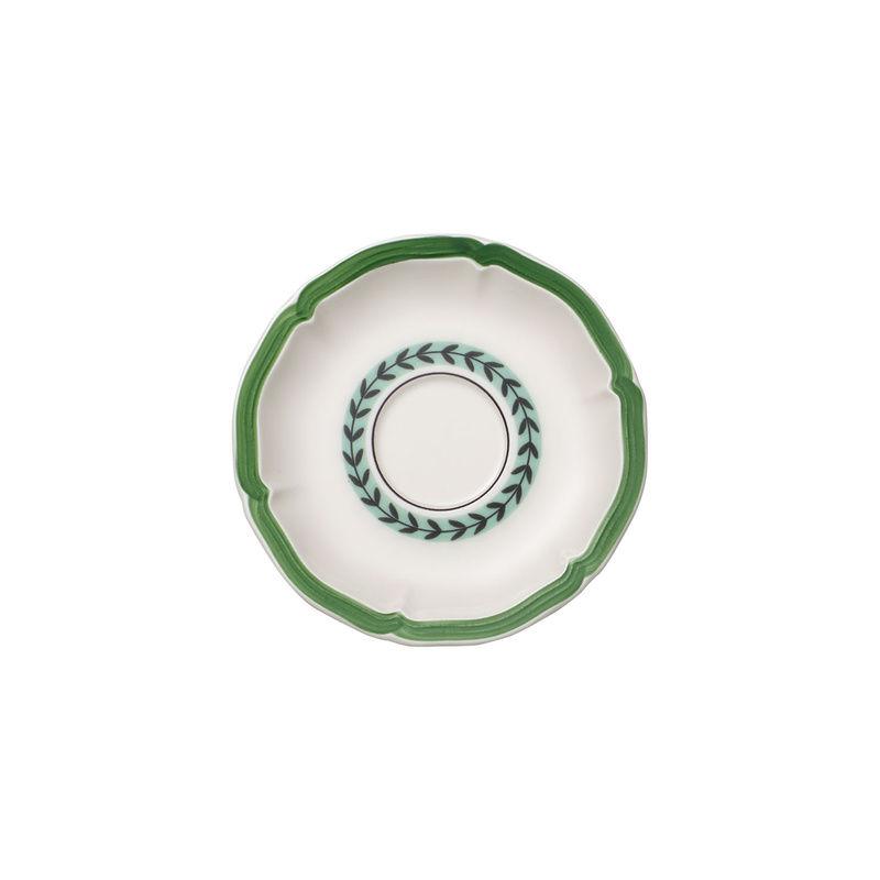 Villeroy & Boch - French Garden Green Line - spodek do filiżanki śniadaniowej - średnica: 17 cm