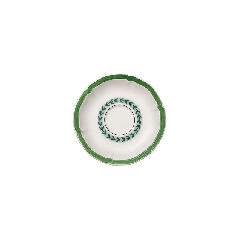 Villeroy & Boch - French Garden Green Line - spodek do filiżanki do espresso - średnica: 13 cm