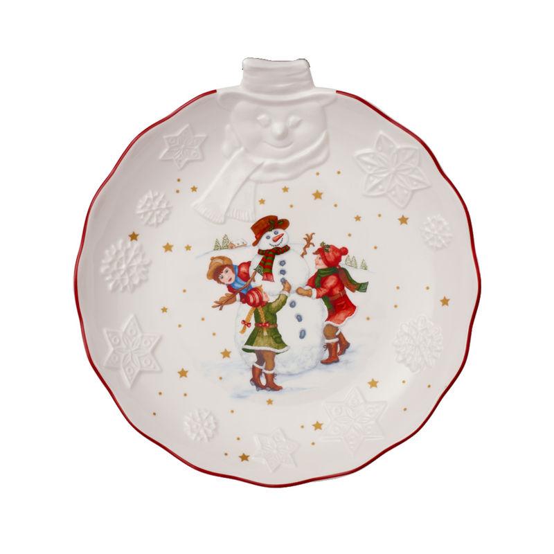 Villeroy & Boch - Toy's Fantasy - miska z reliefem - wymiary: 26 x 24,5 x 4,5 cm