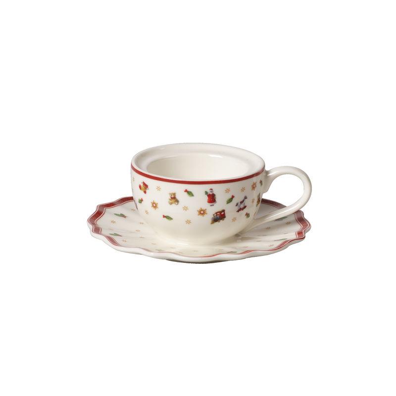 Villeroy & Boch - Toy's Delight Decoration - świecznik na tealight - filiżanka - średnica: 10 cm