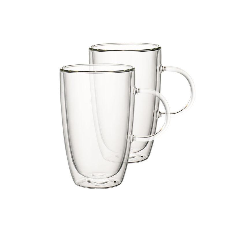 Villeroy & Boch - Artesano Hot & Cold Beverages - 2 szklanki z uchem - pojemność: 0,45 l