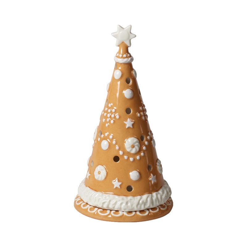 Villeroy & Boch - Winter Bakery Decoration - lampion - choinka - wysokość: 21 cm