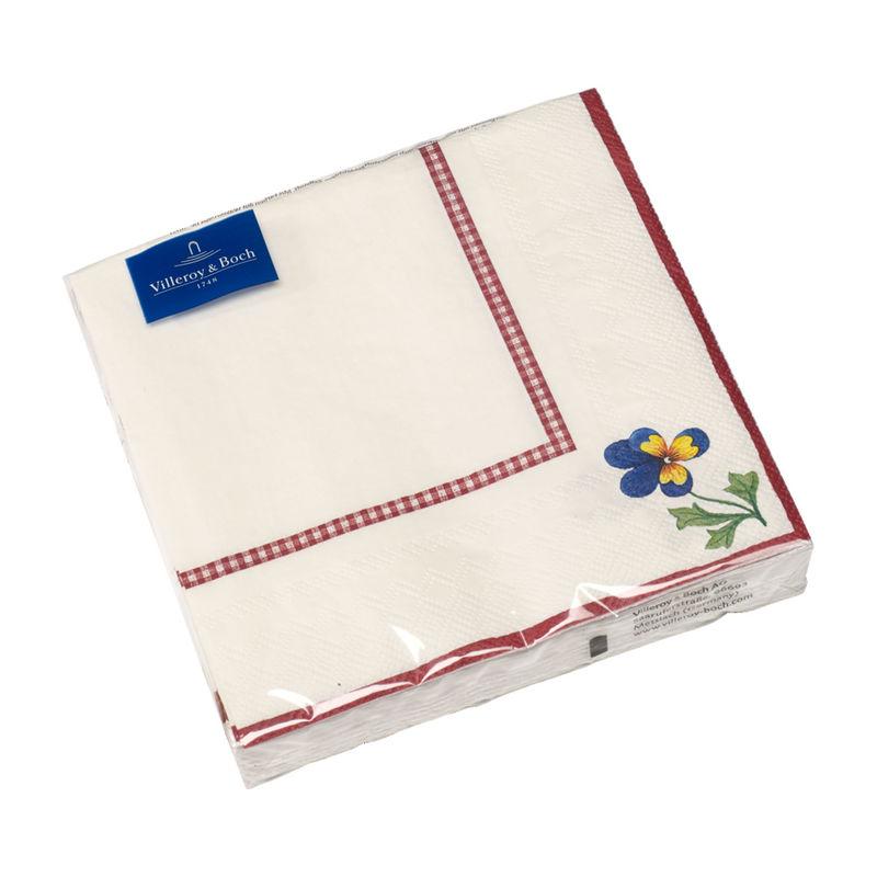 Villeroy & Boch - Petite Fleur - serwetki papierowe - wymiary: 33 x 33 cm
