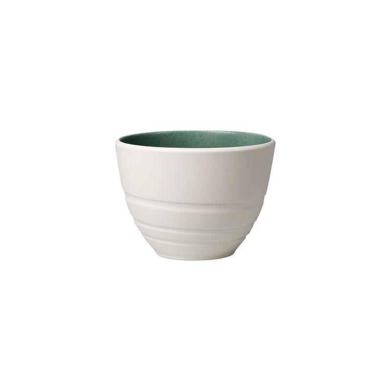Villeroy & Boch - it's my match green - kubek - pojemność: 0,45 l; wzór: liść