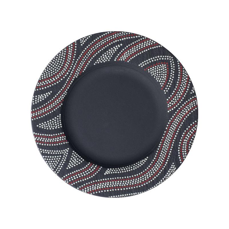 Villeroy & Boch - Manufacture Rock Desert - talerz płaski - średnica: 27 cm