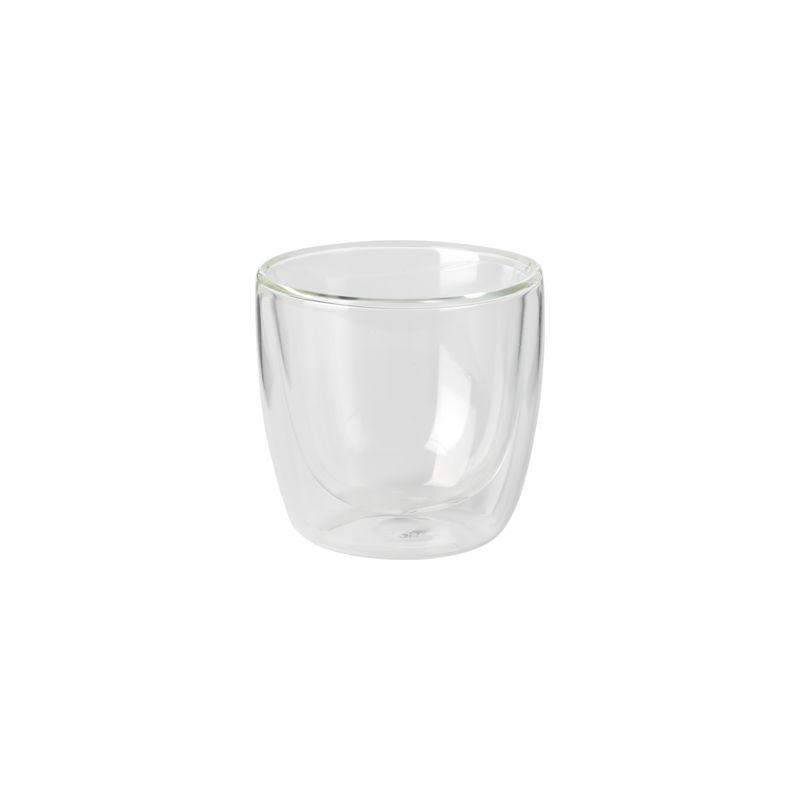 Villeroy & Boch - Manufacture Rock - szklanka do espresso - pojemność: 0,11 l; podwójne ścianki