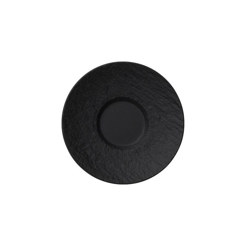 Villeroy & Boch - Manufacture Rock - spodek do filiżanki do espresso - średnica: 12 cm