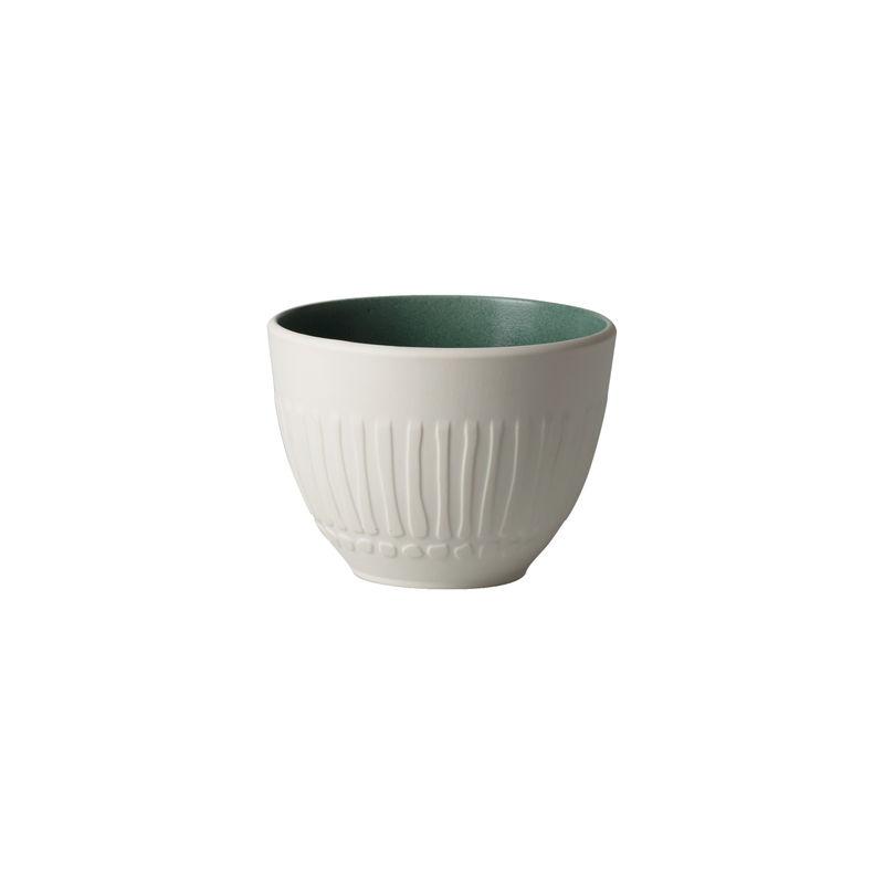 Villeroy & Boch - it's my match green - kubek - pojemność: 0,45 l; wzór: kwiat