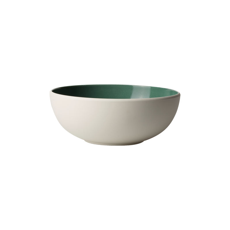 Villeroy & Boch - it's my match green - miseczka - średnica: 17 cm; wzór: jednolity
