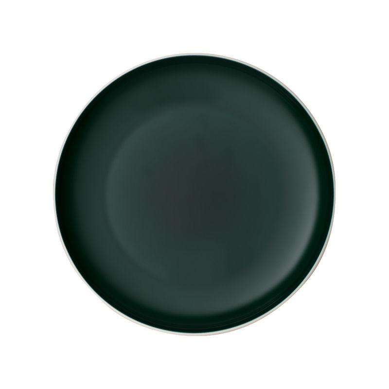 Villeroy & Boch - it's my match green - talerz uniwersalny - średnica: 24 cm; wzór: jednolity
