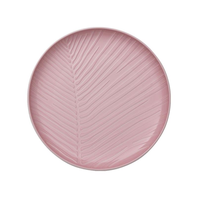 Villeroy & Boch - it's my match powder - talerz uniwersalny - średnica: 24 cm; wzór: liść