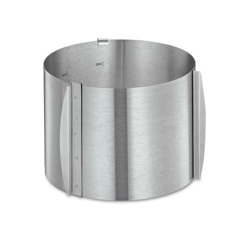 Küchenprofi - Patissier - okrągła ramka do pieczenia - regulowana średnica