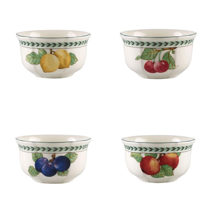 Villeroy & Boch - French Garden Modern Fruits - zestaw 4 miseczek - pojemność: 0,75 l