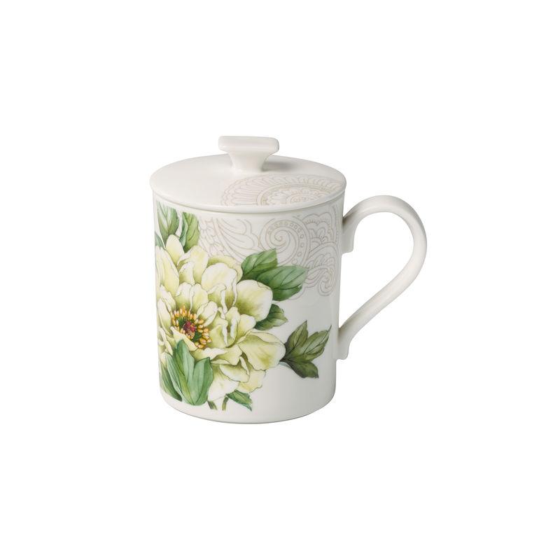 Villeroy & Boch - Quinsai Garden Gifts - kubek z pokrywką - pojemność: 0,3 l