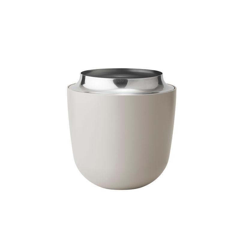 Stelton - Concave - wazon - wysokość: 16,5 cm