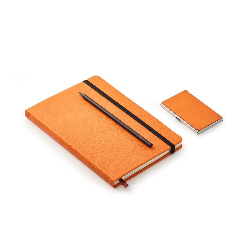 Philippi - Notes - zestaw na spotkania biznesowe - notatnik, ołówek i wizytownik