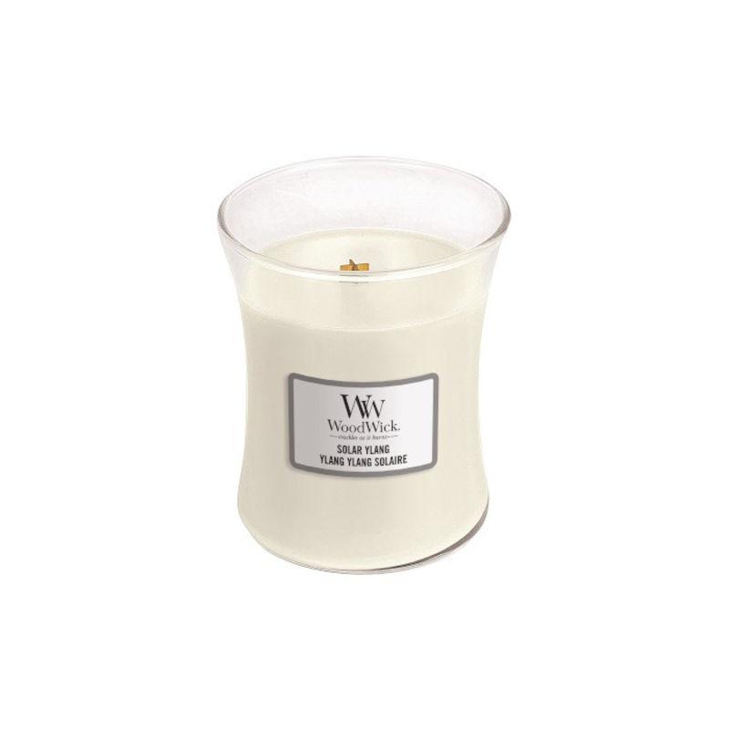 WoodWick - Solar Ylang - świeca zapachowa - ylang-ylang - czas palenia: do 100 godzin