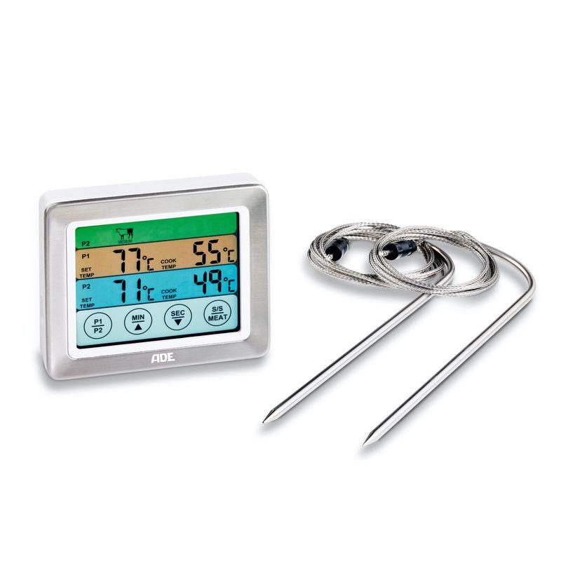 ADE - cyfrowy termometr do mięs - 2 szpikulce
