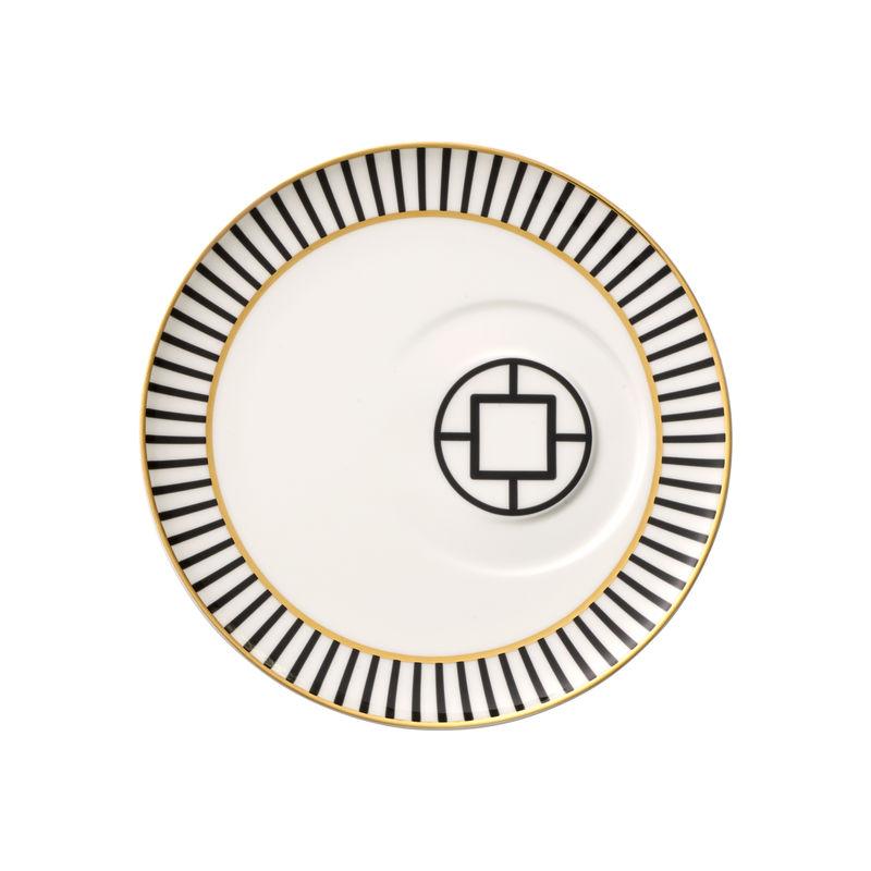 Villeroy & Boch - MetroChic - spodek do filiżanki do kawy - średnica: 18,5 cm