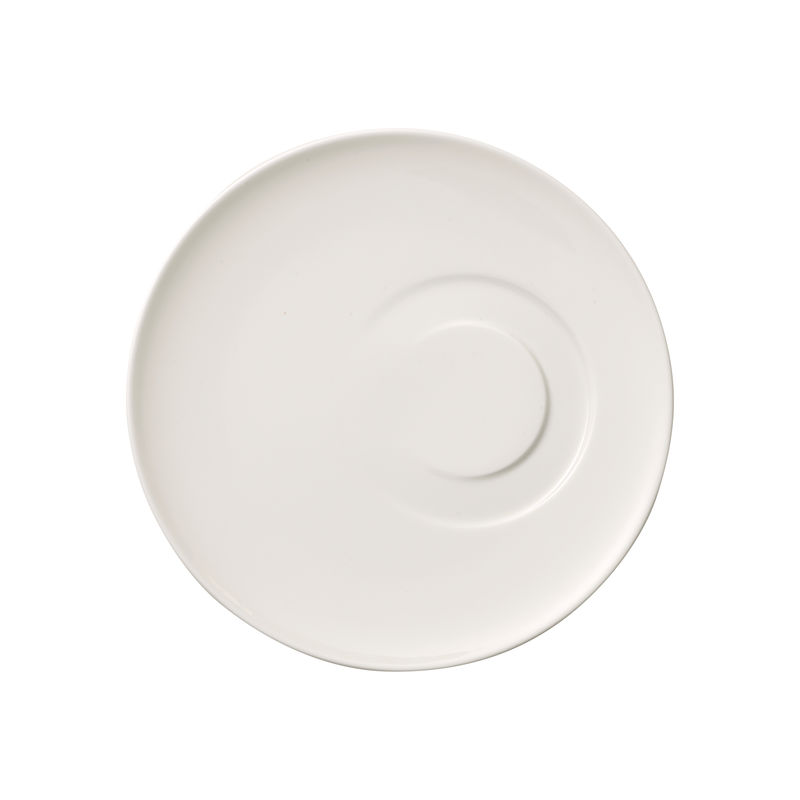 Villeroy & Boch - MetroChic blanc - spodek do filiżanki do herbaty - średnica: 18,5 cm