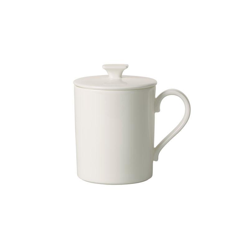 Villeroy & Boch - MetroChic blanc Gifts - kubek z pokrywką - pojemność: 0,3 l