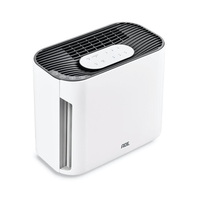 ADE - oczyszczacz powietrza - wielkość pomieszczenia: do 12 m²/30 m³