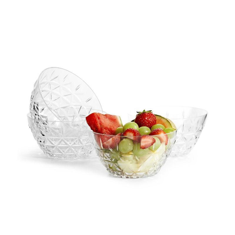 Sagaform - Outdoor Eating - 4 miseczki piknikowe - średnica: 12 cm