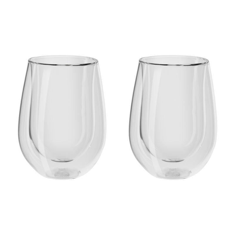 Zwilling - Sorrento Bar - 2 szklanki do białego wina o podwójnych ściankach - pojemność: 0,3 l
