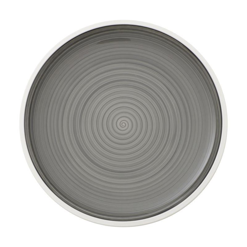 Villeroy & Boch - Manufacture gris - talerz płaski - średnica: 27 cm